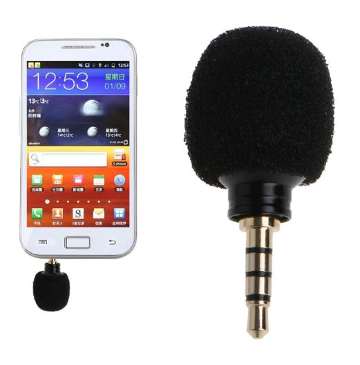 Mobile Phone Mic Microphone for iPhone Samsung Huawei Xiaomi